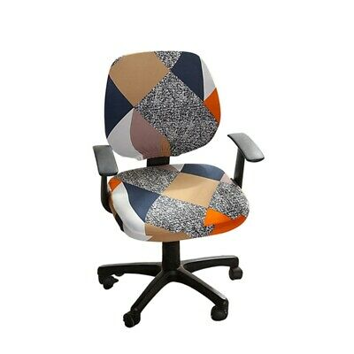 AU7.99 • Buy Office Computer Chair Cover Slipcover Rotating Chair Stretch Covers Protector
