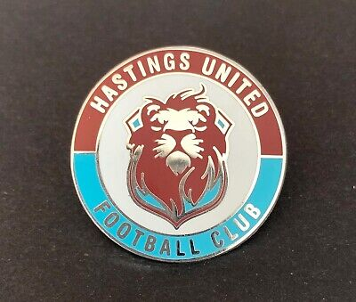 Hastings United FC Non-League Football Pin Badge • 2.50£