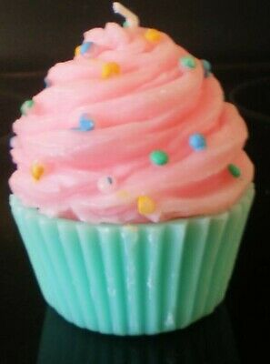 latex Craft Mould CUTE CUPCAKE CANDLE OR SOAP Mould MAKE YOUR OWN!! • 22£