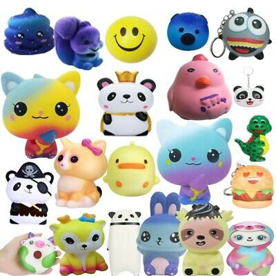AU14.95 • Buy Squeeze Stress Relief Toy Slow Rising Scented Charms Cute Kids Reliever Gift Lot