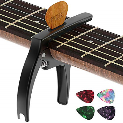$ CDN13.64 • Buy Guitar Capo,TANMUS 3in1 Zinc Metal Capo For Acoustic And Electric Guitars With