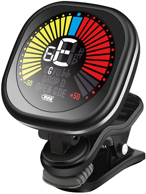 $ CDN29.77 • Buy LEKATO Rechargeable Guitar Tuner Clip On LED Color Display Tuner For All - & &