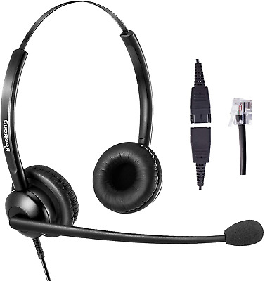 Telephone Headset For Cisco With RJ9 Jack For Landline Phone Headset With Noise  • 34.37£