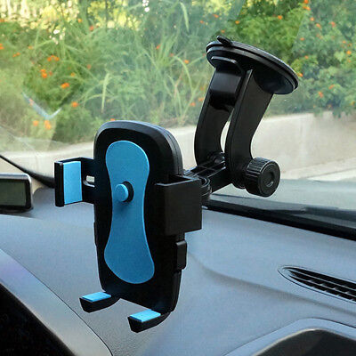 Universal In Car Mobile Phone Sat Nav Pda GPS Holder With Locking Suction Mount • 6.99£