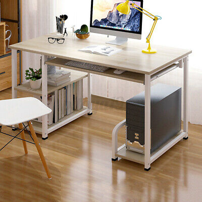AU83.69 • Buy Computer Desk Table Laptop Book Storage Student Study Workstation Home Office