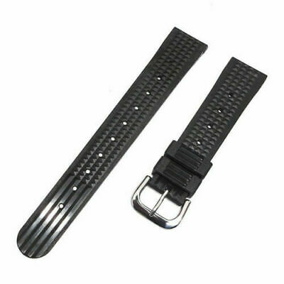 Soft Rubber Waffle Watch Band Strap For Seiko 6105 6217 6159 Diver Watch 20mm  • 11.99£