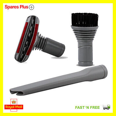 Quality For Dyson DC01 DC03 DC04 DC07 Tool Kit Set Crevice Stair Brush Accessory • 7.49£