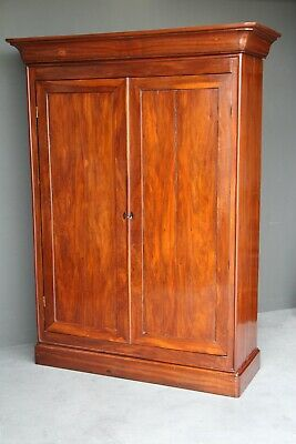 AU2950 • Buy  Rare Antique French Colonial Armoire Wardrobe Solid Rosewood Orginal 1860 Louis