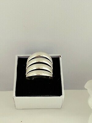 Massive 925 Solid Silver Ladies Ring UK Handmade All Size Available + Gift Box • 36£