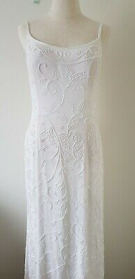 AU250 • Buy Michelle Fashion Ivory Special Occasion Long Formal Gown Wedding Dress Size 14