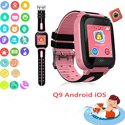 AU16.15 • Buy Anti-lost Kids Safe GPS Tracker SOS Call GSM Smart Watch For Phone Android IOS