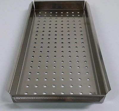 $44.20 • Buy New Ritter Midmark M11 Small Tray Stainless Ultraclave Autoclave Sterilizer Tray