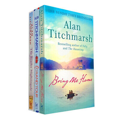 £13.48 • Buy Alan Titchmarsh 3 Books Collection Set Mr Gandy's Grand Tour Paperback NEW