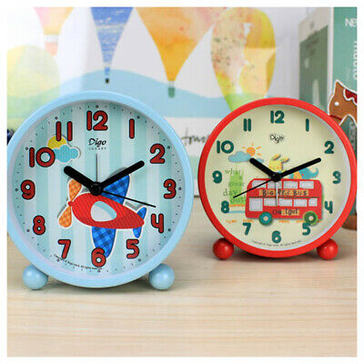 AU47.62 • Buy Cute Alarm Clock For Kids Bedside Alarm Clock Travel Alarm Clocks Battery