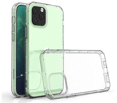 AU5.80 • Buy NEW! For IPhone 12 11 X 7/8 SE Shockproof Clear Bumper TPU Gel Back Case Cover