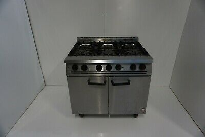 6 Ring Gas Range Dual Fuel Cooker • 1,000£