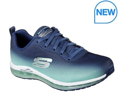 NEW Skechers - Sketchers Women's Running Sketch Air Element Shoes Blue UK Size 5 • 54.99£