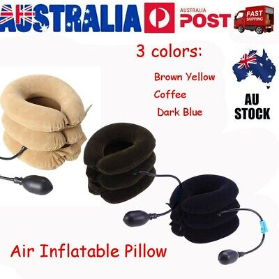 AU17 • Buy Air Inflatable Pillow Easing Muscle Pain Device AU For Cervical Neck Traction AU