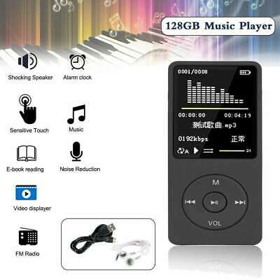 £11.99 • Buy Support 128GB Portable MP3 Player Lossless HIFI MP4 Music Player Music Speaker