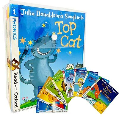 £33.05 • Buy Julia Donaldson's Songbirds Read With Oxford Phonics 36 Books Collection Set