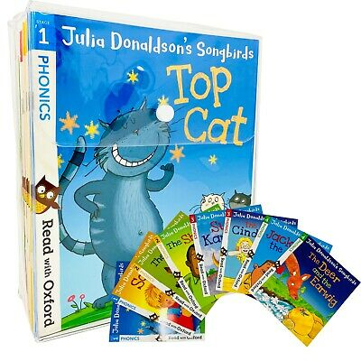 Julia Donaldson's Songbirds Read With Oxford Phonics 36 Books Collection Set  • 33.11£