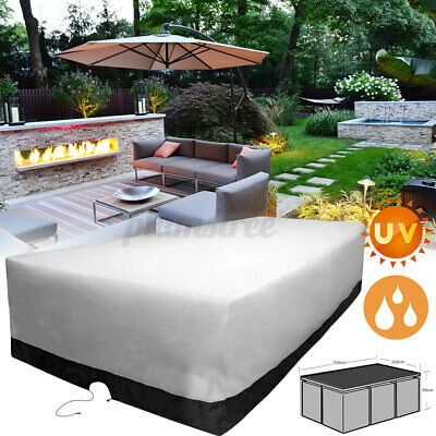 AU49.99 • Buy Patio Garden Furniture Cover Outdoor Waterproof UV Chair Protector 10 Seater