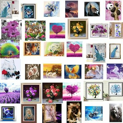 Diamond 5D Painting Embroidery Cross Craft Stitch Pictures Arts Kit Mural Decor • 0.99£
