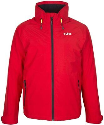 Gill Men's Pilot Waterproof Sailing Jacket Coat Red Large IN81J RRP £150 • 89£