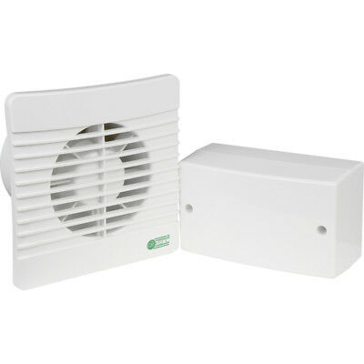 £36.99 • Buy Low Voltage Extractor Fan 12V With Timer & Transformer - OK For Bathroom Zone 1