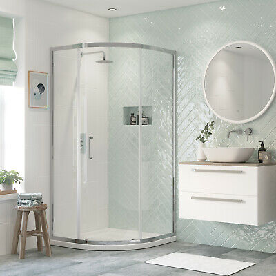 Signature Inca6 Single Door Quadrant Shower Enclosure 900mm X 900mm - 8mm Glass • 239.95£