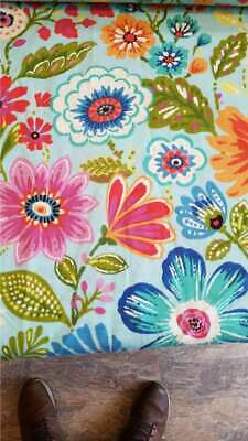 £7.85 • Buy Swavelle Clown Flowers Fabric By The Yard
