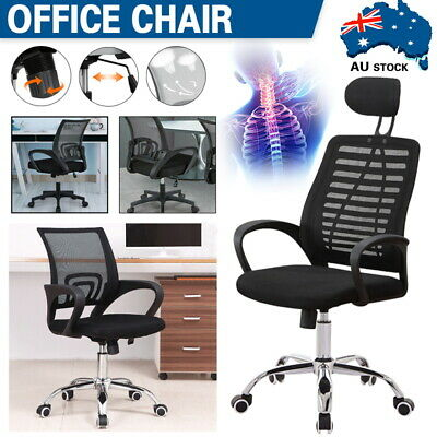 AU72 • Buy Mesh Office Chair Adjustable 360° Swivel Ergonomic Lift Computer Gaming Chair AU