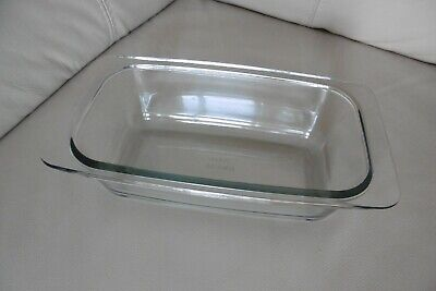 Ekco / Philips Hostess Trolley Glass Dish Food Server Clean Condition No Lid • 10.62£