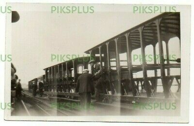 Old Postcard Herne Bay ? Pier Tramway Kent Real Photo Vintage 1920s • 58£