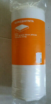 New Ikea King  Kungsmynta Mattress Protector  76 X 80 '' • 31.88£