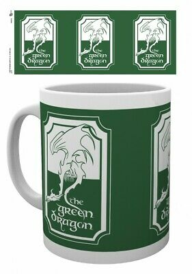 The Lord Of The Rings - Green Dragon Hobbit Poster Coffee Mug (4x3in) #118402 • 11.99£