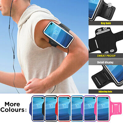 £3.99 • Buy Running Gym Jogging Arm Band Phone Holder Case Cover For Samsung S21 S20 S10 A12