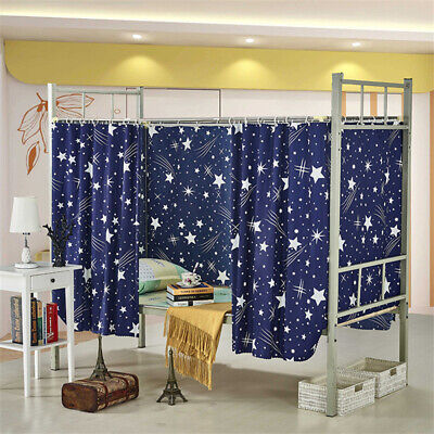 Cabin Bunk Bed Tent Curtain Cloth Dormitory Mid-sleeper Bed Canopy Spread Screen • 6.59£