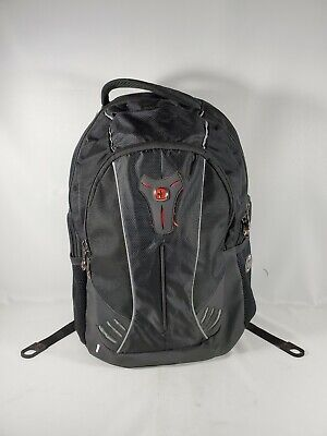 Swiss Gear Backpack Book Bag Computer LOTS OF POCKETS Comfortable Large Quality • 17.88£