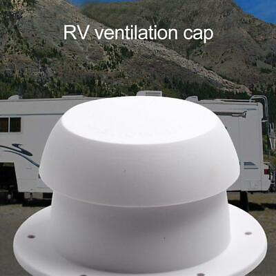 Mushroom Head Shape RV Boat Marine Roof Plumbing Vent Cap Cover Auto Replacement • 8.39£