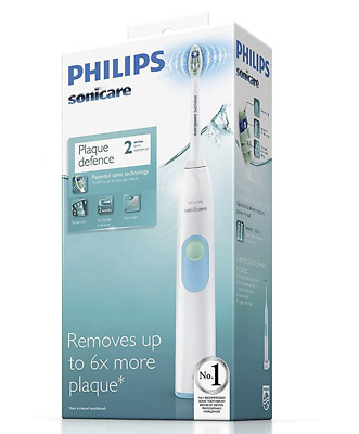 AU79.50 • Buy Philips HX6231 Sonicare 2 Series Electric Toothbrush White - NEW - FREE POSTAGE