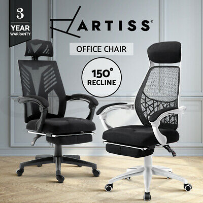 AU139.95 • Buy Artiss Office Chair Gaming Computer Desk Chairs Study Work Home Mesh Recliner