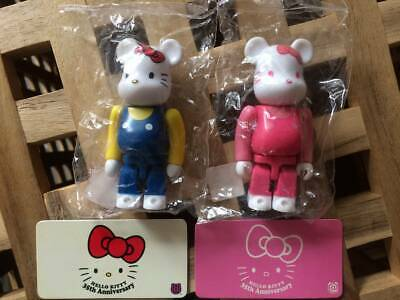 $182.87 • Buy Be Rbrick Series 18 Animal Front / Back Hello Kitty Bearbrick Sanrio Medicom Toy
