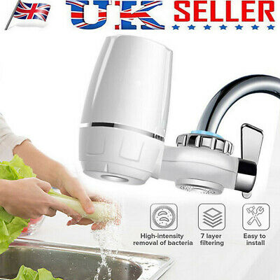 Home Drinking Water Tap Filter Kit System Including Faucet And Filter Tap Cerami • 11.99£