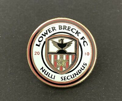 Lower Breck FC Non-League Football Pin Badge • 2.50£