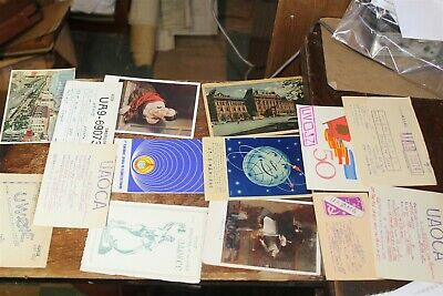 $ CDN19.03 • Buy Qsl Cards -14 Diff Russia Qsl Cards 60's To 80's Many Picture Types