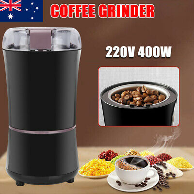 AU27.45 • Buy Electric Coffee Spice Grinder Grinding Mill Bean Nuts Spices Herbs Milling Tool