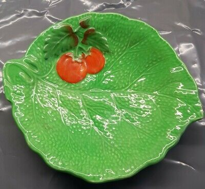 Crown Devon..Tomato And Cabbage Leaf China Bowl 16cm Across Vintage • 3.99£