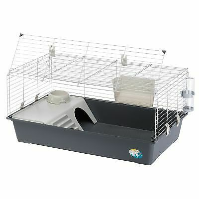 Guinea Pig And Rabbit Cage W/ Plastic Bowl Dringking Bottle Small Pet House • 46.22£