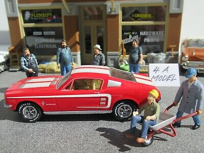 £29.90 • Buy MATCHBOX COLLECTIBLES 1:43 Scale FORD MUSTANG FASTBACK 2+2, RED, DINKY #DY016/D